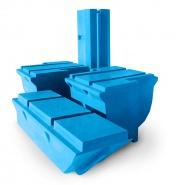 Коротко о пластиковых модулях плавучести для понтонов